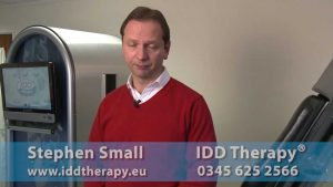 IDD Therapy Neck Pain Treatment Demonstration